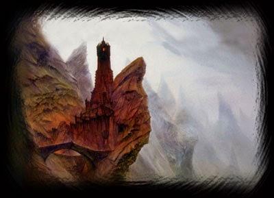 Wat bandnaam Cirith Ungol betekent - Tolkien - The tower Cirith Ungol - Artwork John Howe