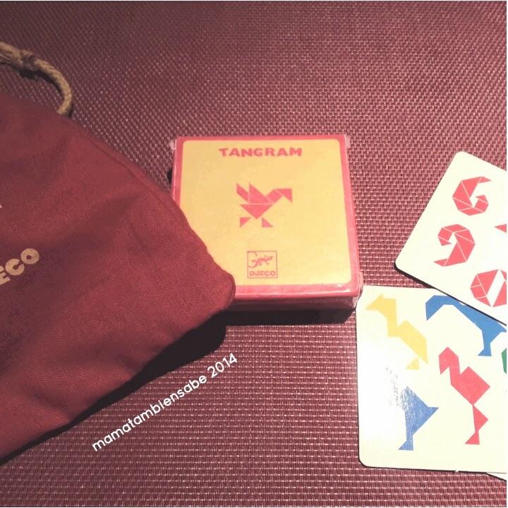 Juegos de mesa tangram de viaje