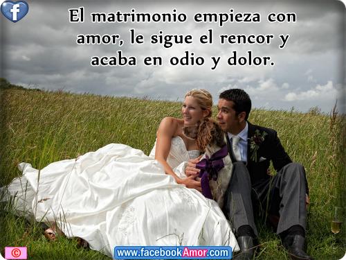 Imagenes con frases de matrimonio para facebook - Imágenes Bonitas ...