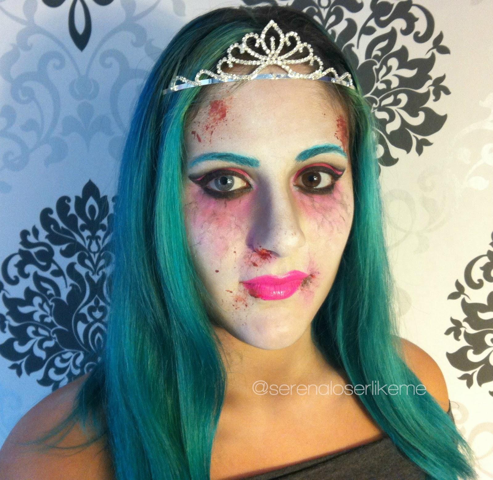 Serena Wanders: 🎃 Cartoon Zombie Princess - Halloween Makeup ...