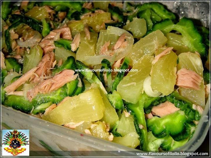 Century tuna, ampalaya and pineapple salad