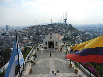 "View from ""Faro de Guayaquil"""