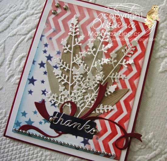 bouquet veterans card side view