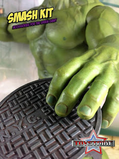 Toy Strike Smash Kit 1/6 Scale Hot Toys Avengers Hulk Accessory Set