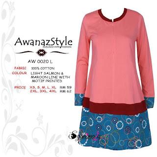T-Shirt-Muslimah-Awanazstyle-AW0020L