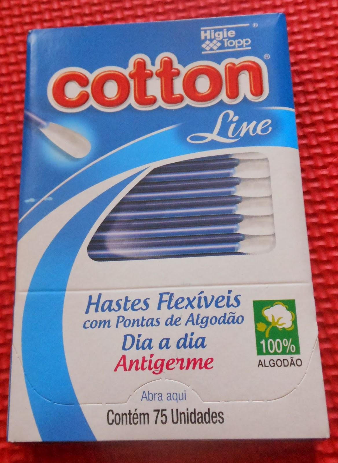 hastes flexíveis cotton line dia a dia