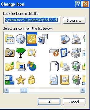 merubah icon