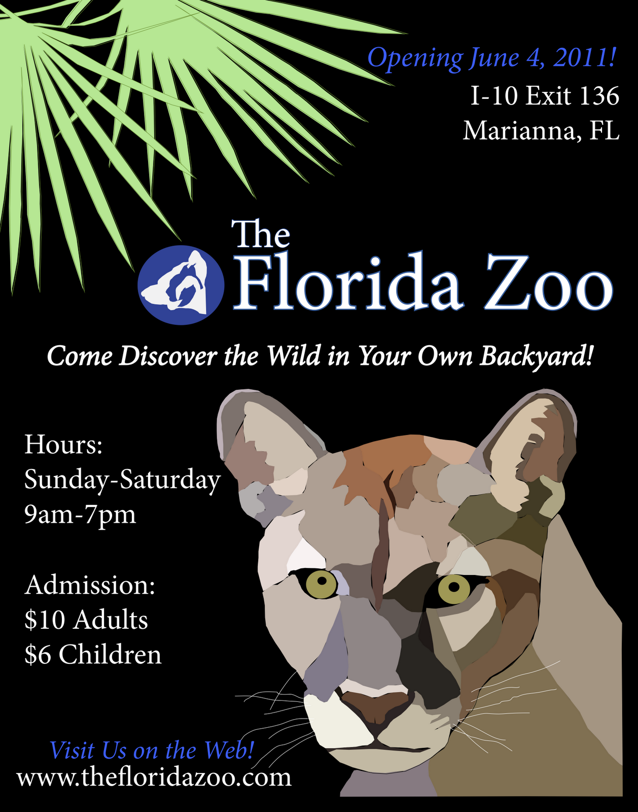 Zoo poster design - Zoo Poster Logo
