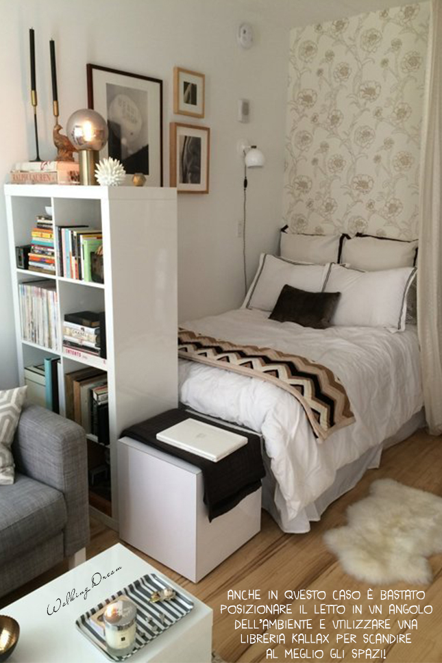 walking dream: piccole camere da letto - Libreria Per Camera Da Letto