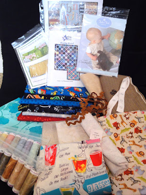 ri County Quilt Tour loot!