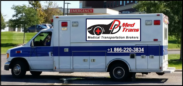 Non Emergency Medical Transport Bus in Scottsdale, Arizona, USA