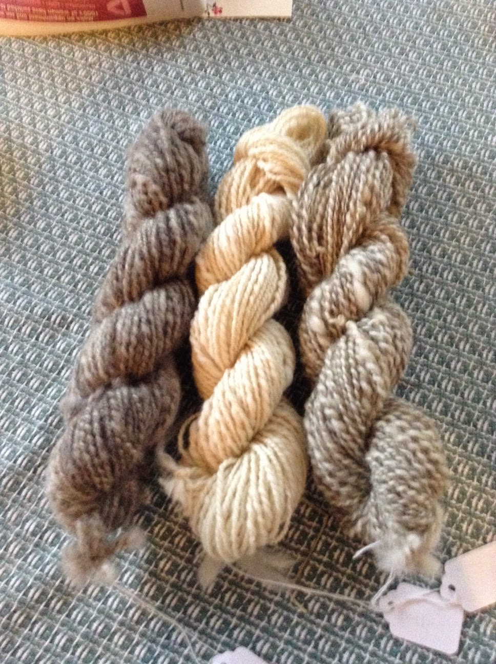 Wool from the flock will be for knitting projects