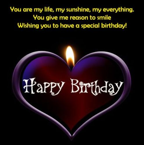 Happy Birthday Wishes For Girlfriend Images In English Happy Birthday Wishes To My In