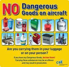 Jenis-jenis Barang Terlarang di dalam Pesawat