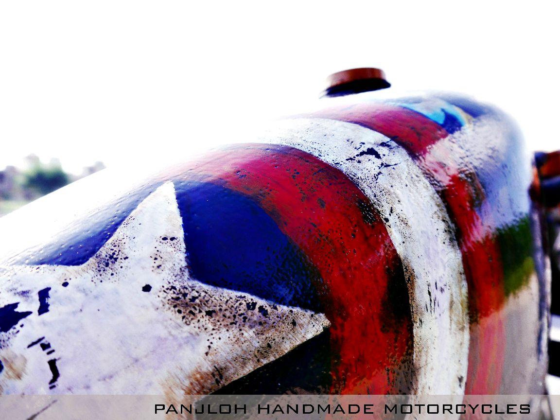 war motorcycle captain america tank