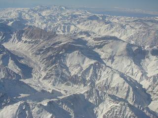 Mendoza no sopé da Cordilheira dos Andes