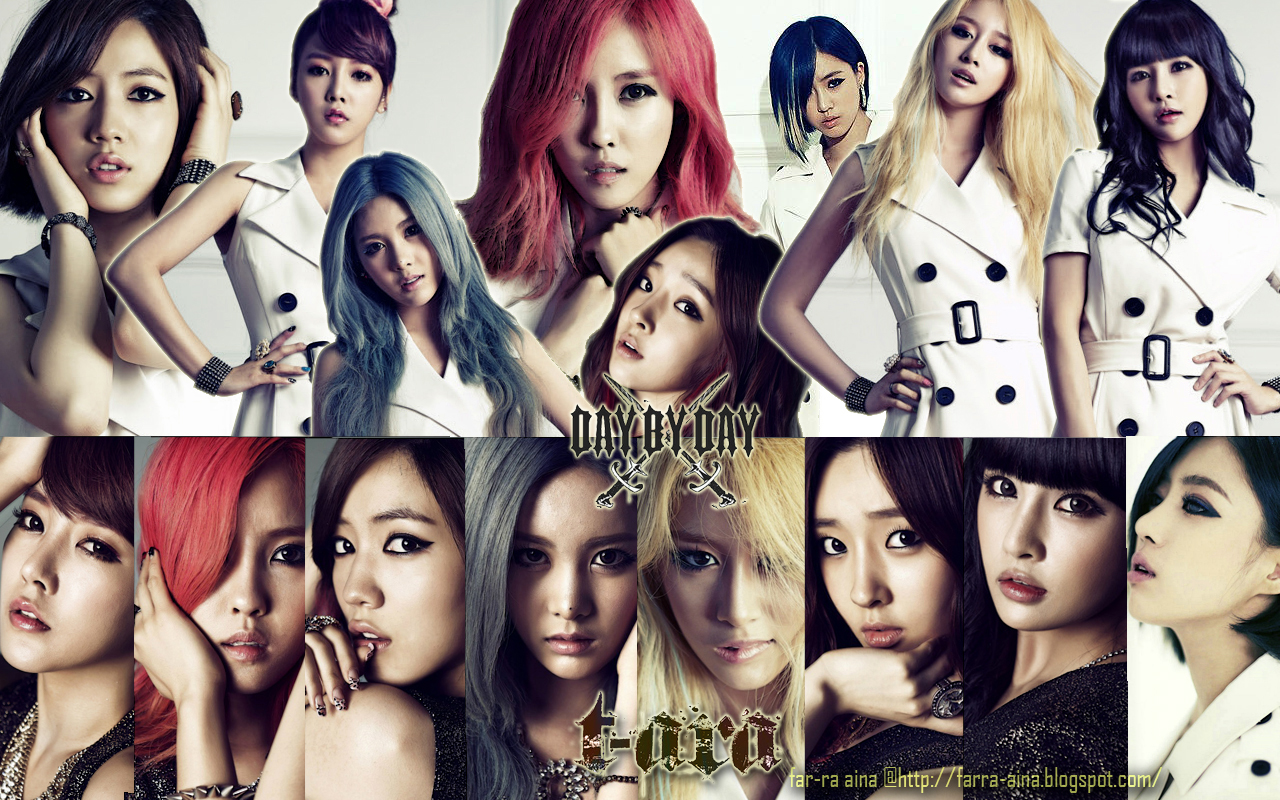 T ARA Day By Day Japanese Ver YEYEON OFFICIAL