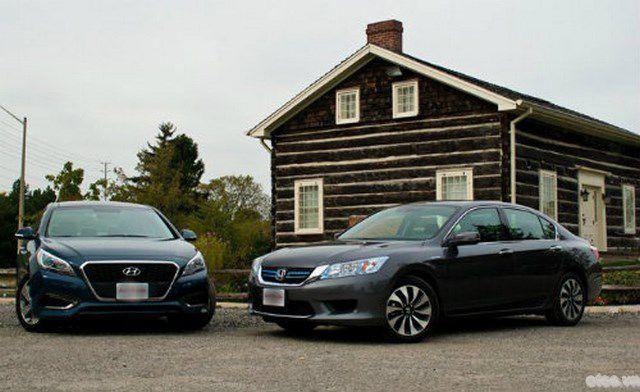 Honda Accord 2015 đối đầu Hyundai Sonata 2016