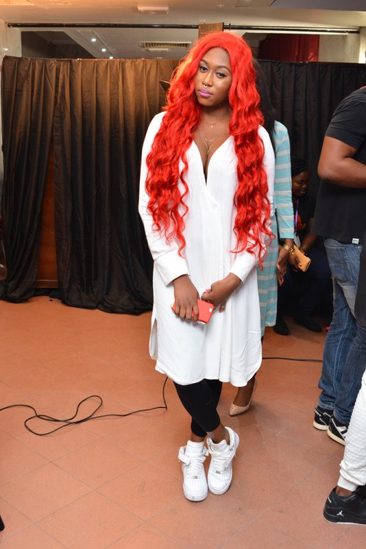 Cynthia Morgan Rocks Leggings With Sneakers To An Event: Hit Or Miss? [Photos]
