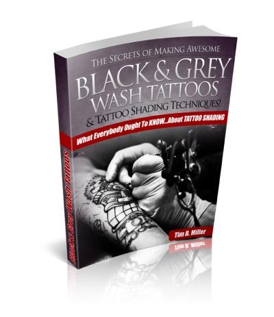 Trade e book tattoos design tattoo shading the black for How to shade tattoos