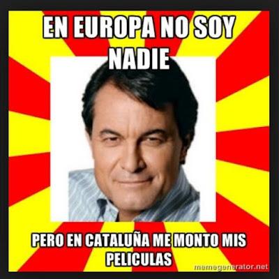 Memes sobre Cataluña