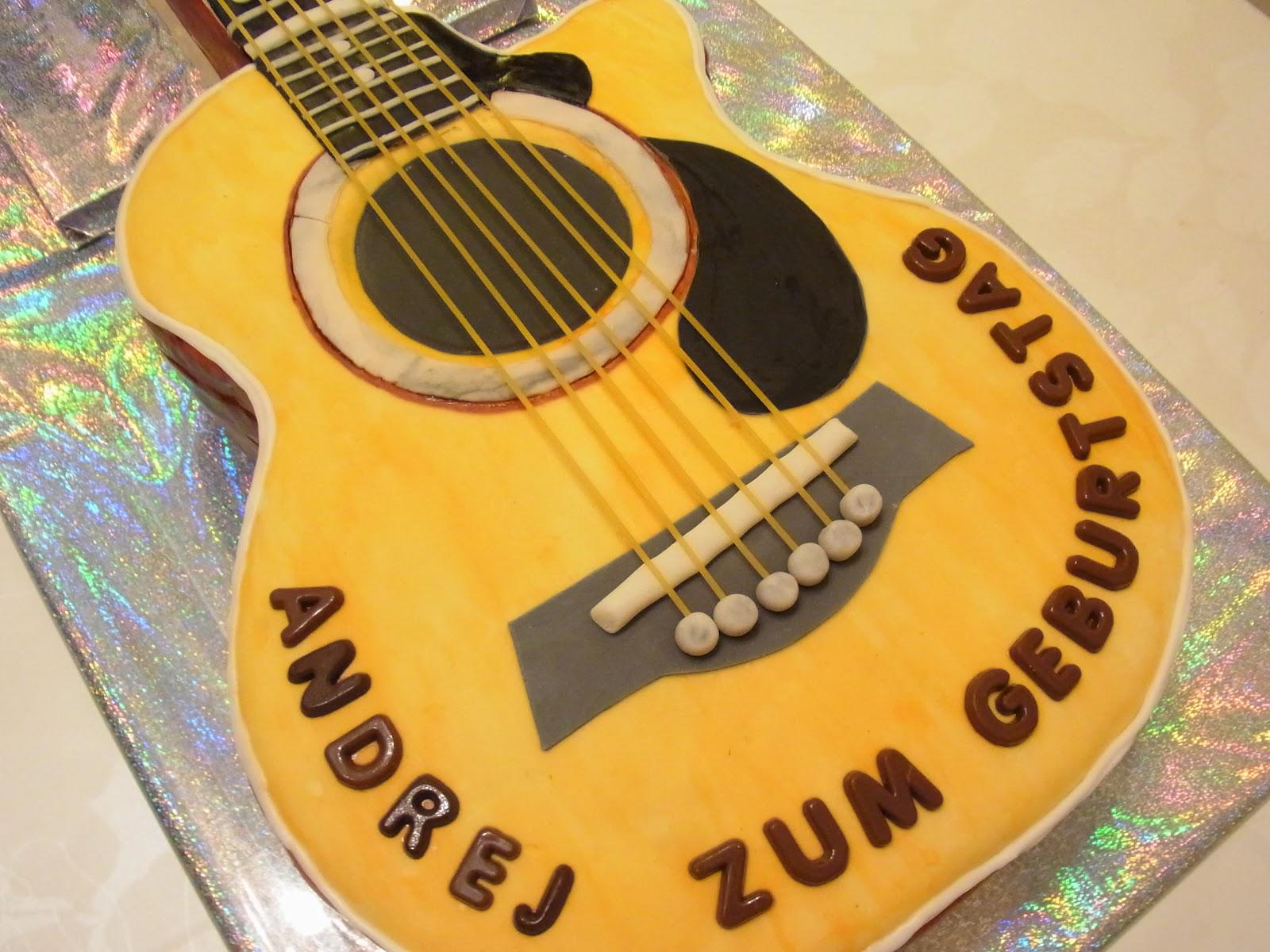 Торт гитара как его сделать 722