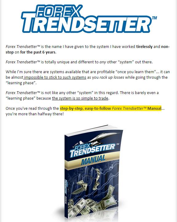 Forex trendsetter