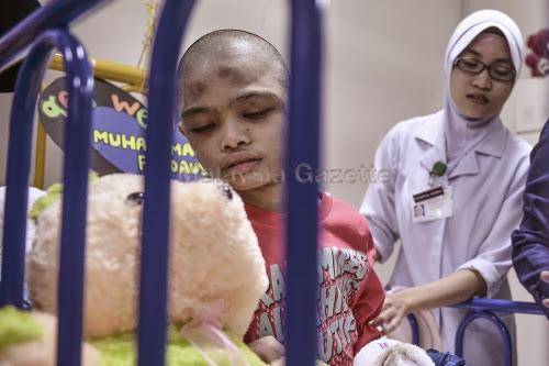 Remaja OKU, Muhammad Firdaus Dullah Keluar Hospital Jumaat Ini