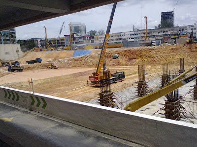 Damansara Uptown Phase 2 under constuction 2