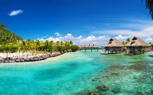 Bora Bora Hilton - Amazing Beaches - Playas