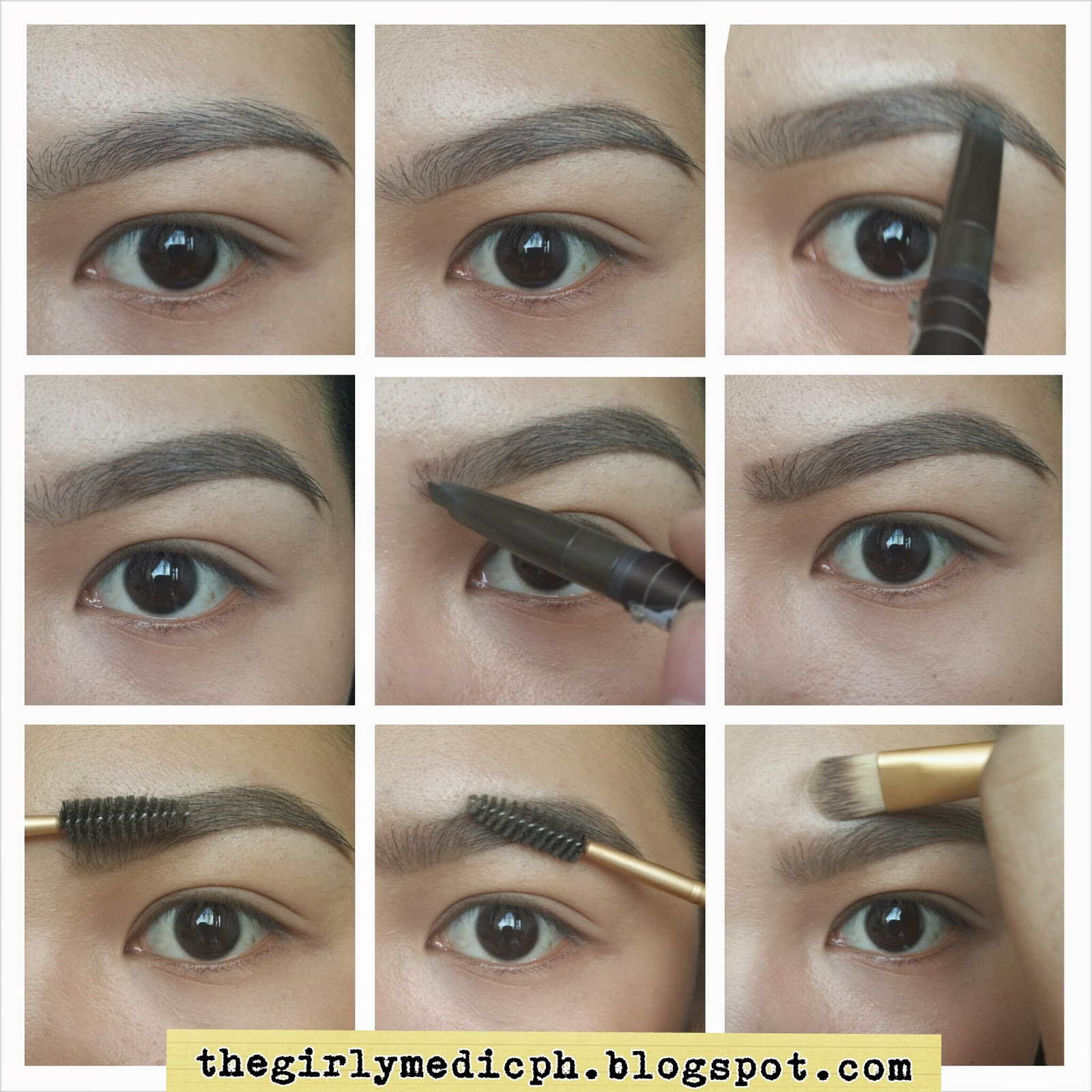 The Girly Medic All About Brows Series Review On Etude House