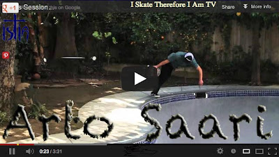 Arto Saari, Backyard Pool Session, skateboarding video