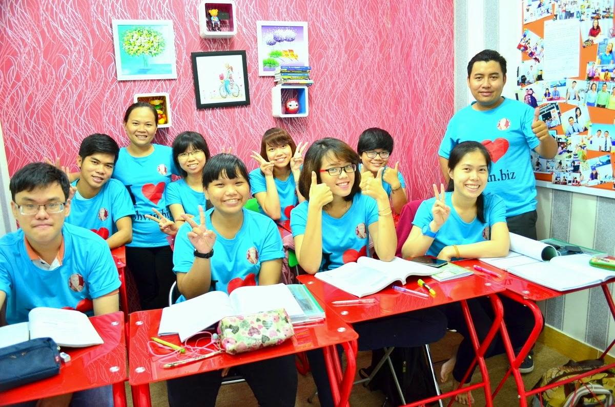 Đồng phục lớp học I Love Anhvan.biz