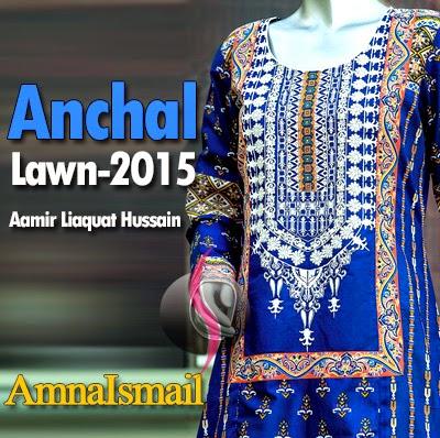 Amir Liaqat Hussain Anchal Lawn 2015