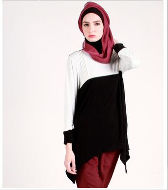 Galeri fashion desain gambar model baju muslim wanita masa kini