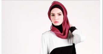Trend model contoh gambar desain baju muslim wanita modern ...
