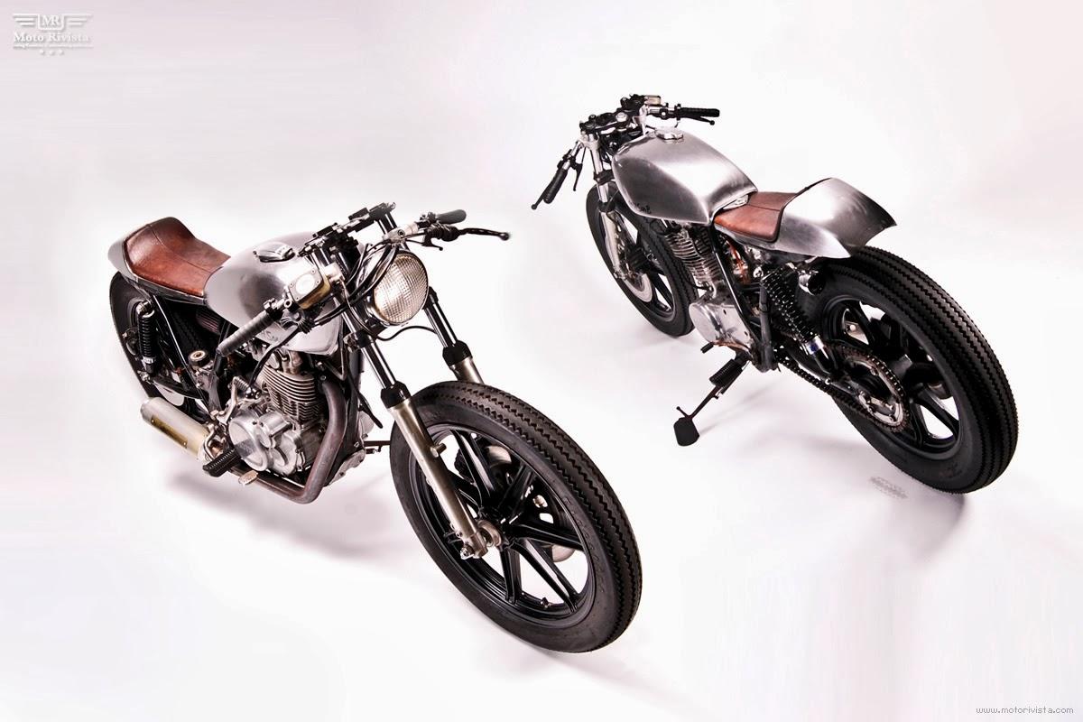 for motorcycle fans yamaha sr500 cafe racer motohangar. Black Bedroom Furniture Sets. Home Design Ideas