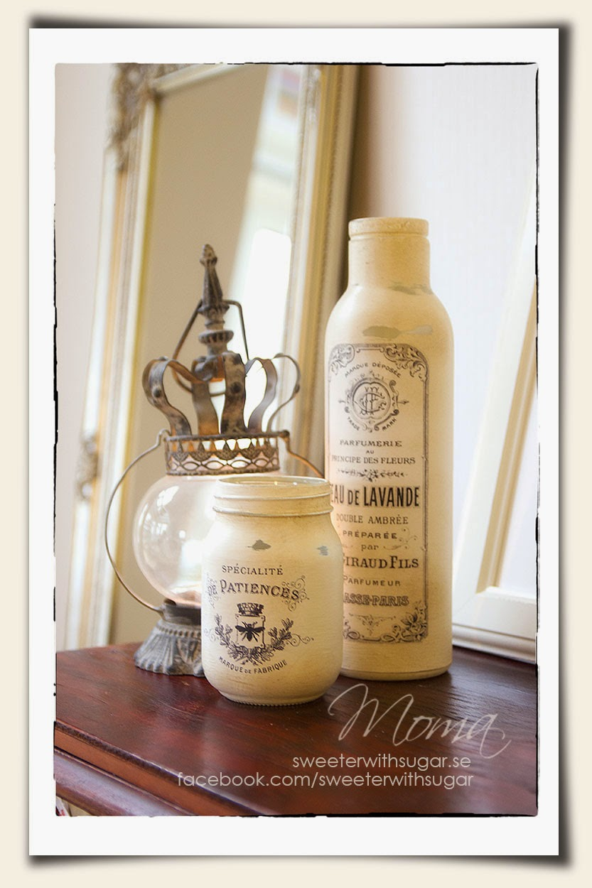 Annie Sloan Chalk Paint, Original, vintage bottles,
