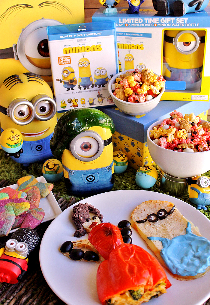 Host a #MinionsMovieNight gathering today with these fun and simple themed recipes and ideas! (Ad)