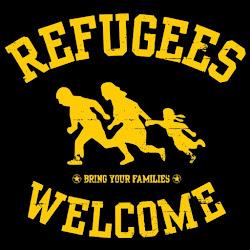 Solidaridad con los refugiados.