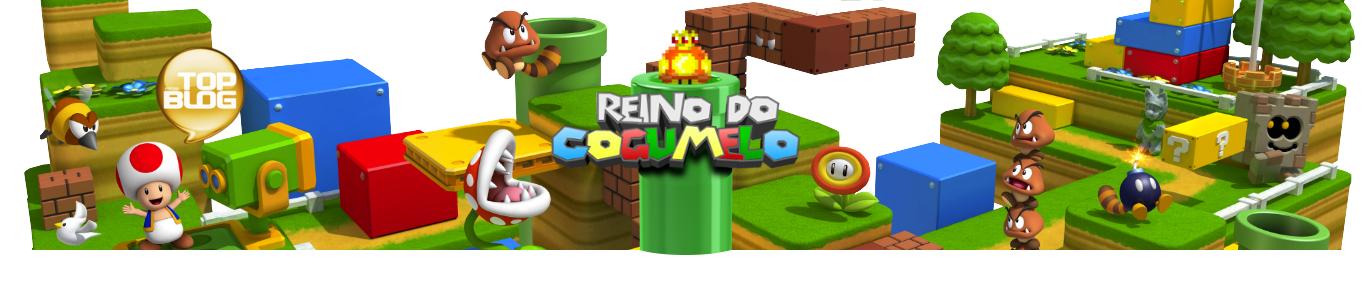 Reino do Cogumelo 🏰