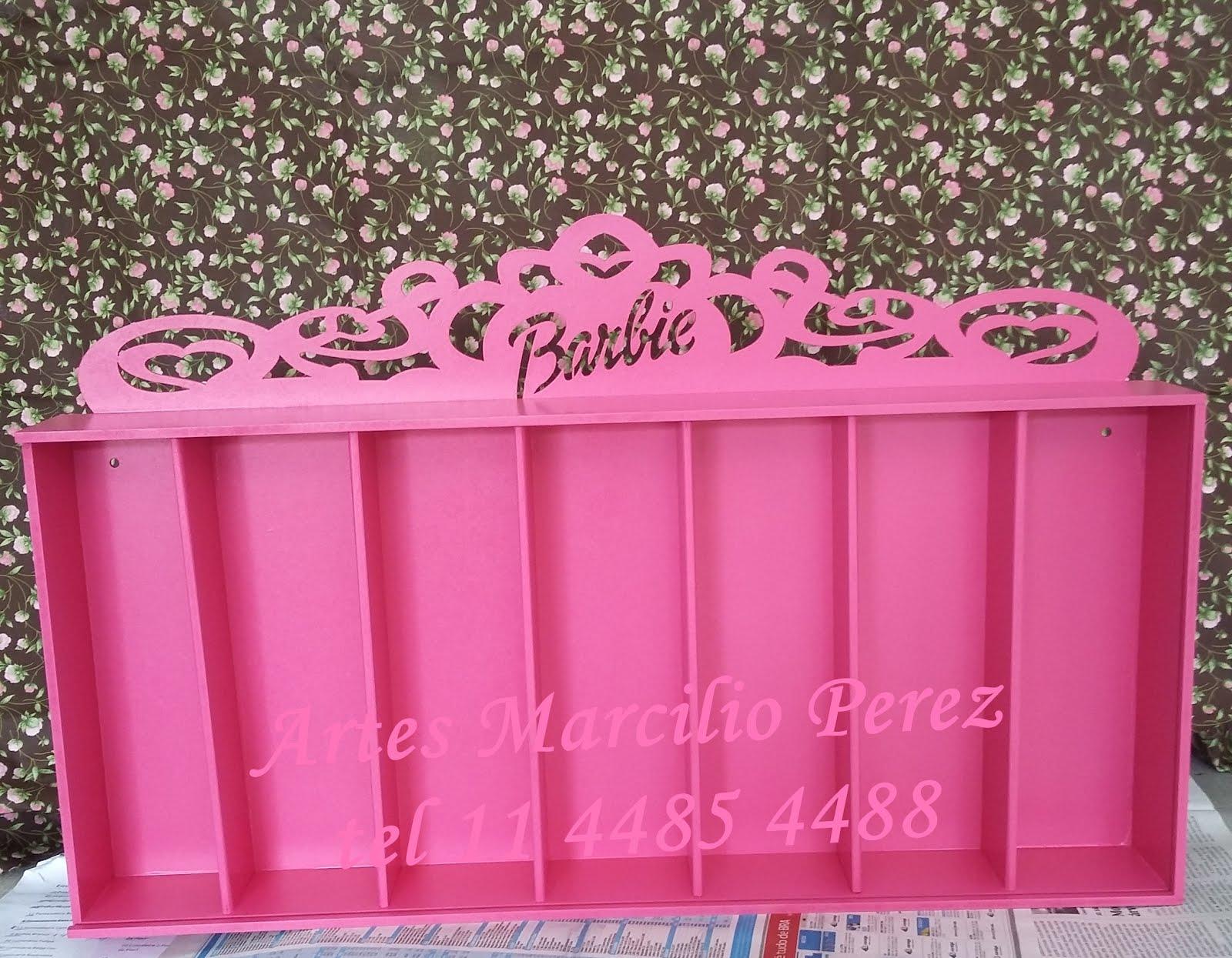 Lançamento Porta Barbie para 7 bonecas  R$ 130,00