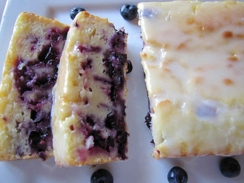 Lemon-Blueberry Yogurt Cake Recipe — Dishmaps