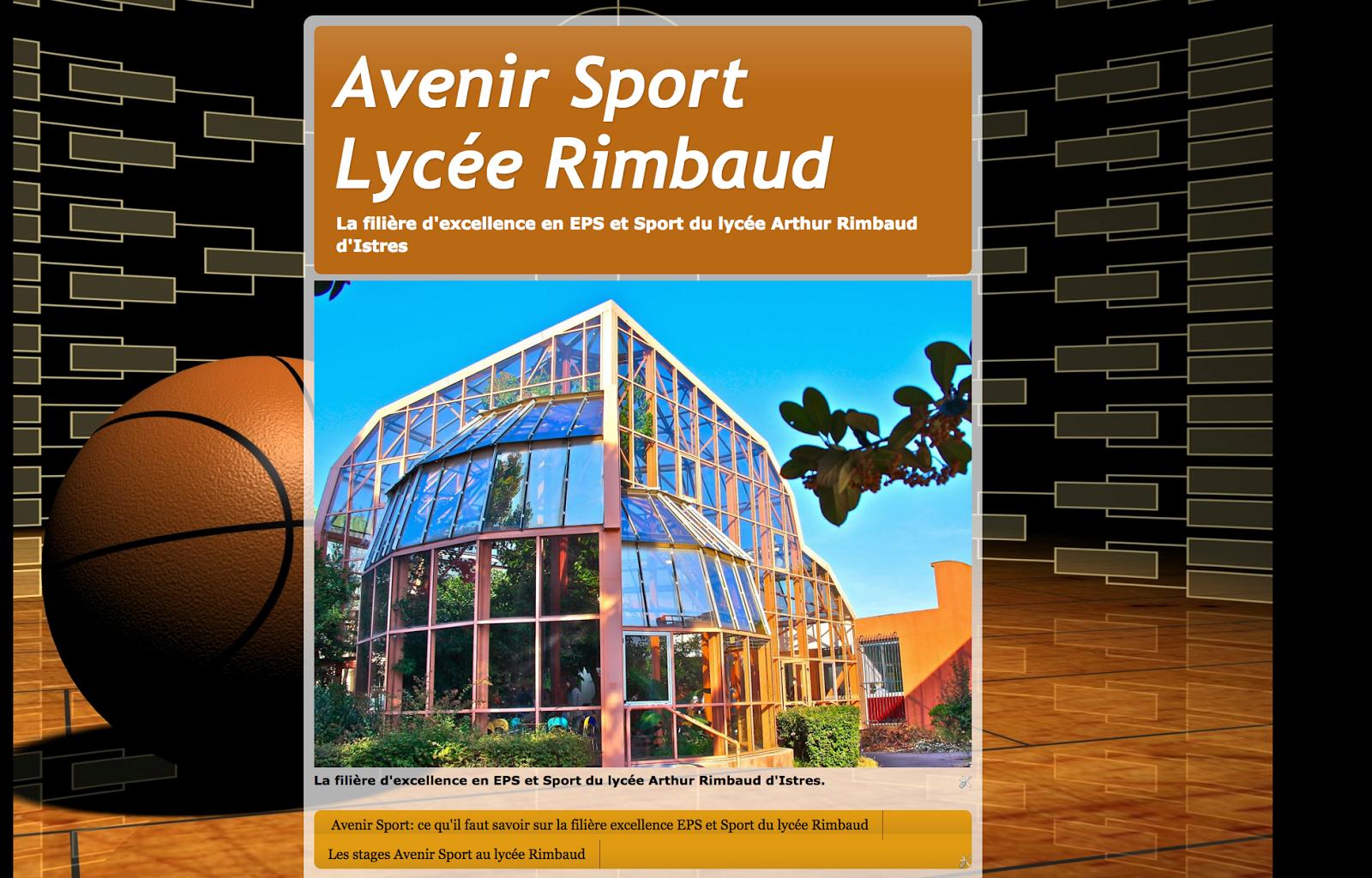 Avenir sport: l'EPS de complément au Lycée Rimbaud