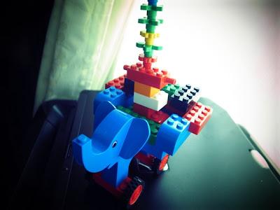 レゴ ぞうさんひこうき
