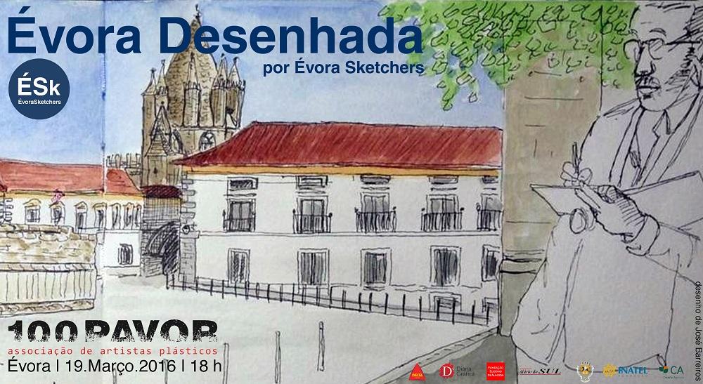 Évora Desenhada, 2016