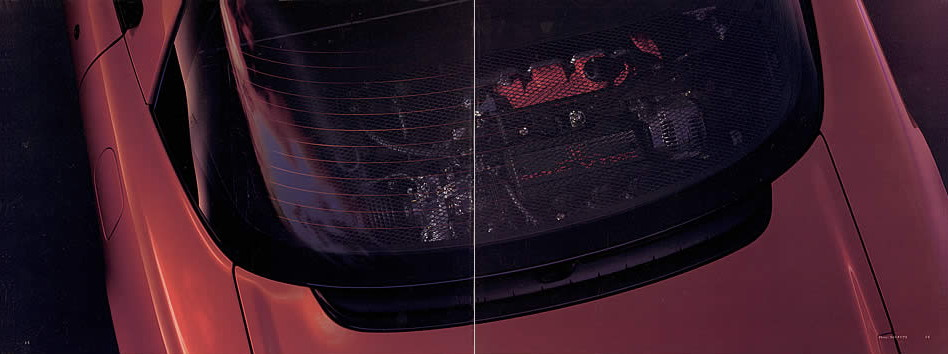 Honda NSX japoński supercar sportowy samochód kultowy silnik centralnie V6 RWD 日本車 ホンダ アキュラ