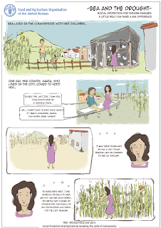 image World Food Day Poster Contest Info- Bea and the Drought comic page 1 of 2