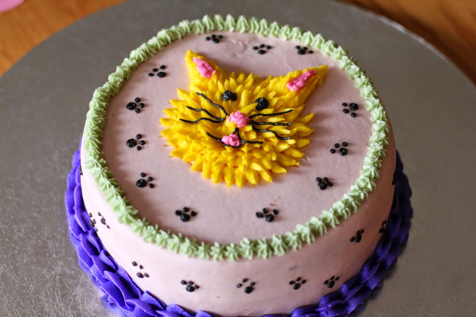 The Ganos Happy 5th Birthday Kitten Birthday Cake And Peanut