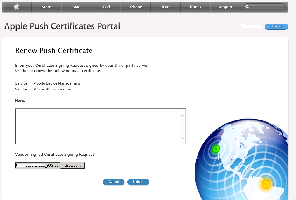 Gerry Hampson Device Management Microsoft Intune Renew Apple Apn
